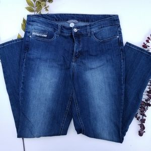 Christopher & Banks Slimming Straight Jeans